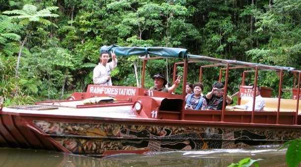 Army duck Tour Kuranda, North Queensland Australia