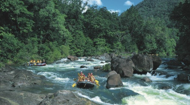 Rainforest, Rafting and Reef