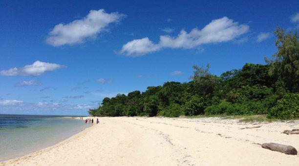 Green Island, amazing beach